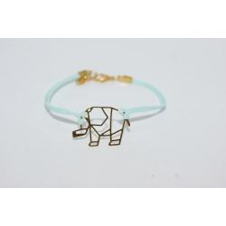 bracelet filigrane éléphant
