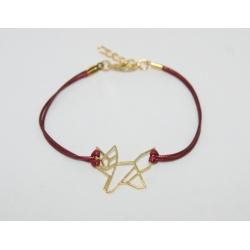 bracelet filigrane renard