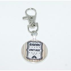 """porte clés  homme  """" barbu /vintage """""""