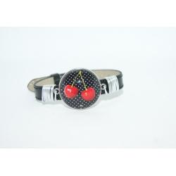 bracelet cerise