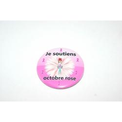 badge octobre rose