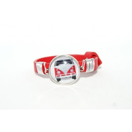 bracelet rouge e