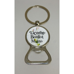 porte clés/décapsuleur licorne/boulot/ mojito