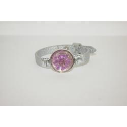bracelet bohème fleur violette