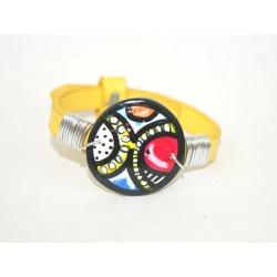 bracelet réglable peinture abstraite
