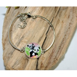 bracelet de createur panda