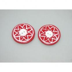 bouton polymère diam 4cm