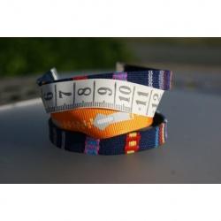 bracelet manchette couturière