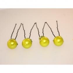 pic à chignon perles anis